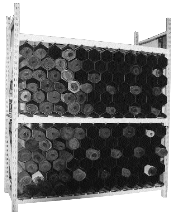 Standard Pallet Rack Configuration